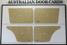 Datsun Nissan 510 1600 Door Cards. Blank Trim Panels to suit Sedan & Wagon