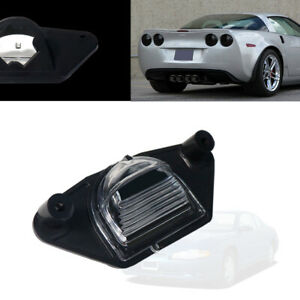 Smoke Lens Rear License Plate Lamp Housing For Chevrolet Pontiac GMC Car Truck