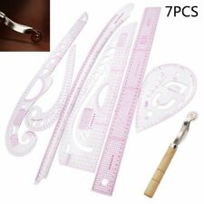 Curve Ruler Sewing Measuring Tools Cutting Tailoring Material Accessory 7pcs/set