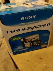 SONY HANDYCAM DCR-TRV255E PAL CAMCORDER DIGITAL 8 MM TAPE VIDEO CAMERA E-MEDIA