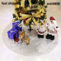 """Falda De Arbol Rose Gold Navidad 50"""" Grande Decoraciones Para La Casa Navideñas"""