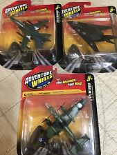 Maisto Adventure Wheels 3 Aircraft B-25 Mitchell,Tornado Marine,F117 Nighthawk