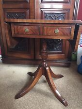 Drop Leaf Side Table Bevan Funnell Reprodux 2 Drawer