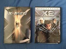 X-MEN Double Feature! DVD Movie Lot of X-Men & X2 X-Men United Wolverine Marvel