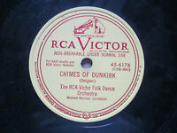 RCA Victor Folk Dance Orchestra Chimes OF Dunkirk ~ Crested Hen 45-6176 78 rpm