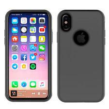Fundas y carcasas metálicas Para iPhone X color principal negro para teléfonos móviles y PDAs
