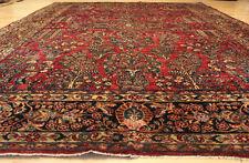 100 year old Handmade American Sarouk Rug 355cm x 275cm