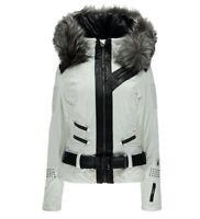 NWT Spyder Amour Ski Jacket Women White 10, 12, 14 $1000 NEW !!!