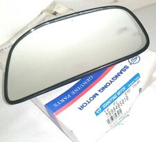 GENUINE SSANGYONG MUSSO RIGHT HAND WING MIRROR GLASS WITH HOLDER 7899405010