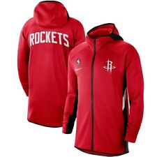 Nike 2019-2020 Houston Rockets Authentic Showtime Therma Flex Full-Zip Hoodie