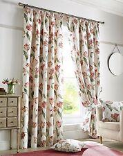 Cotton Blend Floral Modern Curtains