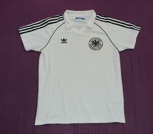 Adidas Deutschland DFB Trikot Gr. L Weiß #5 Beckenbauer Retro 74 Top Zustand!!!