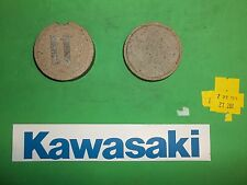 27-201 Emgo Kawasaki Road Bike FRONT BRAKE PADS HI-F 500 73-75 55