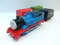 THOMAS THE TRAIN * 2009 Gullane Mattel * Works! - Engine and Cars - Motorized