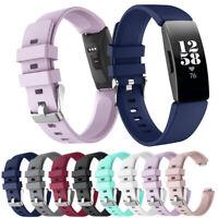 Sport Schnabel Silikon Armband Ersatz Gurtband For Fitbit Inspire / Inspire HR