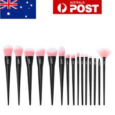MSQ 15Pcs Blush Foundation Powder Makeup Brushes Set Eyeshadow Lip Brush Tools