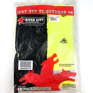 Hi-Visibility Rain Jacket Coat FR PVC/Nomex MCR Safety BJ38JHX5 SZ 5X (1pk)