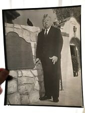 Alfred Hitchcock Litho-Style 8x10 - Original From Universal Pictures Company