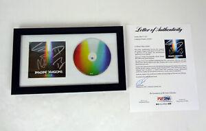 Imagine Dragons Full Band Signed Autograph Evolve CD Framed PSA/DNA COA
