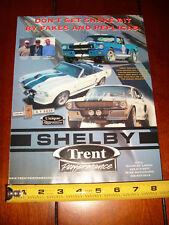 2005 SHELBY TRENT UNIQUE PERFORMANCE GT350SR GT500E - ORIGINAL AD