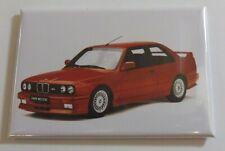 Magnet Aimant Frigo BMW E90 M3 Rouge Long 78 mm Haut 54 mm Neuf