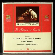 Dvorak Symphonie 5 (9) Chicago Kubelik 11/51  ALP 1018 LP & CV EX