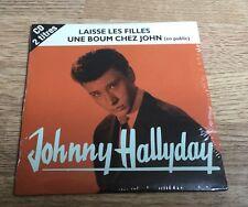# Johnny HALLYDAY Laisse les filles Une boum chez John CD  2 titres NEUF SCELLÉ