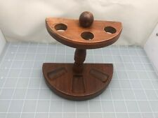 Judd's Very Nice Wooden Pipe Rack - Holds 3 Pipes