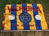 Alte Fahne Verona A C V founded 1903 Fussball  175x95 cm