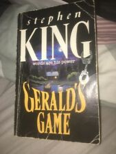 Stephen King GERALD'S GAME (1992) Paperback Novel