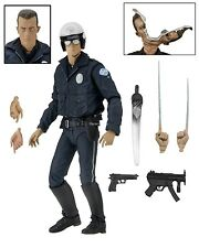"Terminator 2 - 7"" Scale Action Figure - Ultimate T-1000 (Motorcycle Cop) - NECA"