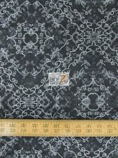 Denim Express Black By Cranston Print Works V.I.P. Fabrics Cotton Fabric Fh-1889