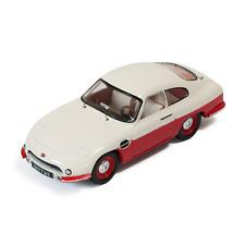 PANHARD DB HBR5 1957 BEIGE AND RED CLOSED LIGHTS 1:43 Ixo Model Auto Stradali