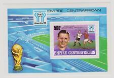 Zentralafrika, Block Fußball Argentina ´78, Bl. 48 postfrisch