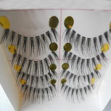 10 pairs Fashion clear band False eyelashes Thick eye lashes Daily eyelashes hot