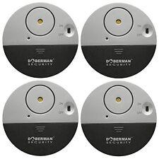 Doberman Security SE-0106-4PK Ultra-Slim Window Alarm 4 Pack Video Surveillance