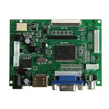HDMI VGA 2AV Controladora Board PI LCD AT070TN90/92/94 LVDS 50 PIN TTL Monitor