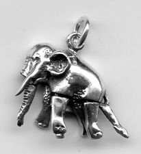 Sterling silver Articulated Elephant Legs move! Charm3 Grams 12X22mm 8415I
