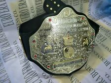 WCW Big Gold Championship Belt, 4mm Brass Metal Plates