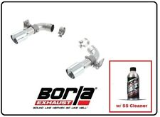 Borla Adapters part w/SS Cleaner for 16-19 Camaro SS W/ Dual Tips # 60605