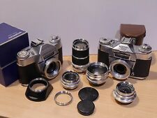 VOIGTLANDER BESSAMATIC COLLECTION: TWO CAMERAS, FOUR LENSES;  THEY LOOK GREAT