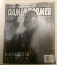 Game InformerMagazine~ HALO 3 Recon ~ 2008 Holiday Buying guide ~Issue 188