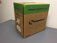 Systimax GigaSPEED XL 1071E, 700211998, Category 6 U/UTP Cable, Yellow, 900ft