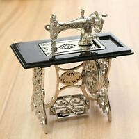 Dollhouse Miniature Metal Sewing Machine 1:12 scale