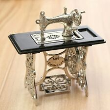 Doll house Metal Sewing Machine 1:12 scale