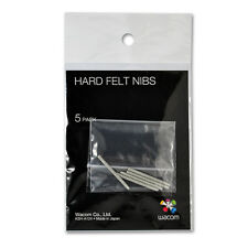 Wacom Hard Felt Nibs ACK-20003 - 5x Tips Replacement for Intuos Cintiq Bamboo