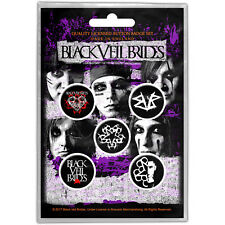 Black Veil Brides Andy Black Biersack Official Licensed Pin Badge Buttons