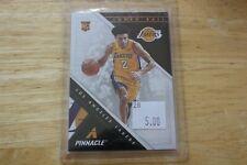 2017-18 Pinnacle Rookie Lonzo Ball #254 Los Angeles Lakers