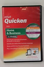 Intuit Quicken 2015 Home and Business Software Windows FULL RETAIL SEALED NEW
