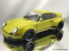 GT Spirit Porsche 911 (930) RSR RWB Rauh-Welt Begriff Khaki Green 1/18